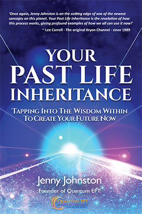 Your Past Life Inheritance book by Jenny Johnston